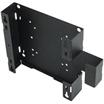 Rack Solutions Wall Mount for Computer - Black Powder Coat