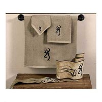 Browning Buckmark Towels - Tan