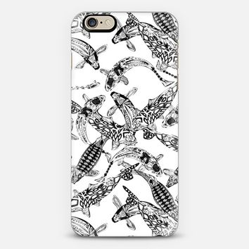luck koi mono iPhone 6 case by Sharon Turner   Casetify