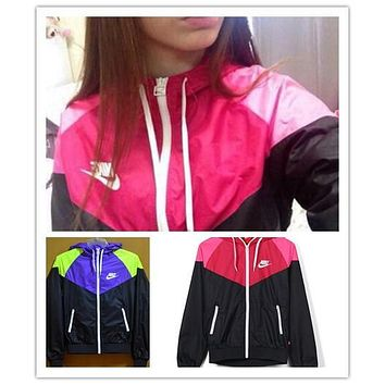 nike hooded zipper cardigan sweatshirt jacket coat windbreaker sportswear-10