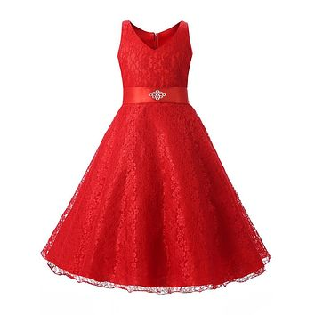 summer girls party dress new designer children teenagers prom ceremonies gowns dresses birthday princess dress 12 years