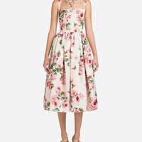 Silk Organza Print Dress - Women | Dolce&Gabbana