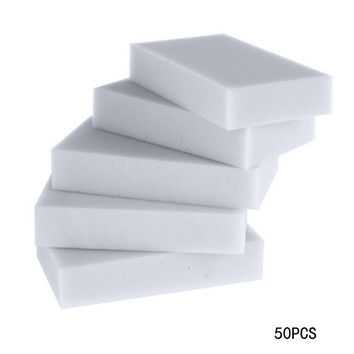 50pcs/lot Multi functional Melamine Sponge Magic Sponge Eraser Melamine Cleaner Eco-Friendly Grey Kitchen Magic Eraser 10*6*2cm
