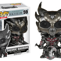 Pop! Games: Elder Scrolls V Skyrim - Daedric Warrior 59 Vinyl Figure (New)