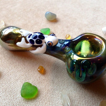 Sea Turtle on Fumed Pipe