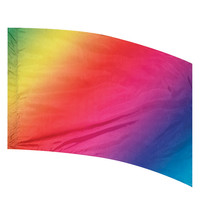 A Wish Come True - Neon Multi Shade Flag
