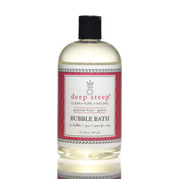 Deep Steep Bubble Bath - Passion Fruit - 17.5 oz