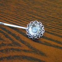 Vintage Flower Hair Pin, Hair Accessory