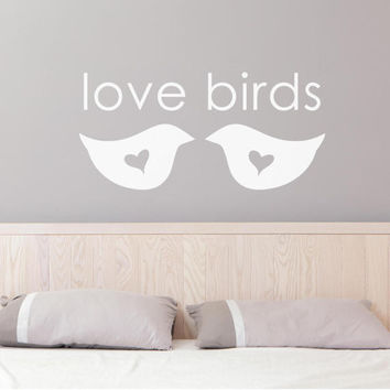Bedroom Wall Decals - Bedroom Wall Decal - Bedroom Decor - Bedroom Wall Decor - Wall Art - Wall Decor - Wall Decals - Wall Stickers - Love