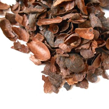 Roasted CACAO SHELLS, Organic - Cocoa Chocolate Tea