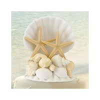 Seashell Cake Topper - Perfect Wedding Gift