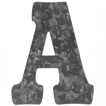 Craft Metal Letter 'a' Hanging Wall Decoration