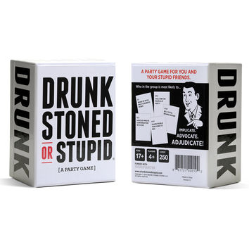 Drunk Stoned or Stupid Board Game
