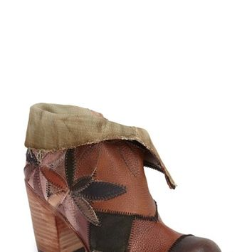"Women's Freebird by Steven 'Flower' Ankle Boot, 3 1/4"" heel"