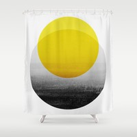 Sunrise Shower Curtain by Georgiana Paraschiv