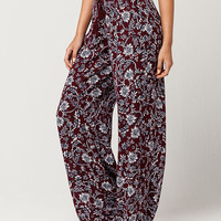 IVY & MAIN Floral Womens Wide Leg Pants | Pants + Joggers
