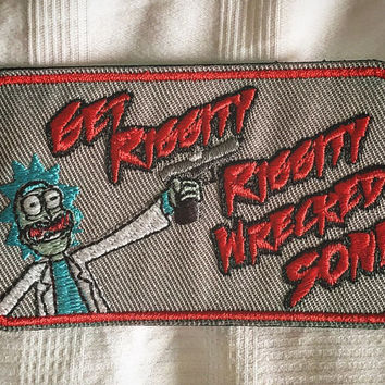 Rick and Morty Morale Patch