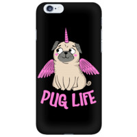 Pug Life With Wings iPhone Case
