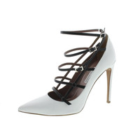 Tabitha Simmons Womens Josephina Colorblock Strappy Pumps