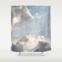 Early Morning Sky Shower Curtain by Theresa Campbell D'August Art