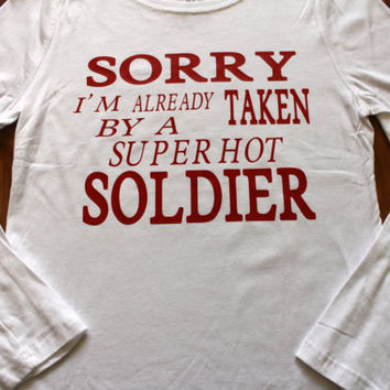 Sale! sorry i'm already taken by a super hot soldier