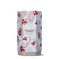 White Chocolate Peppermint Tea-Filled Tin
