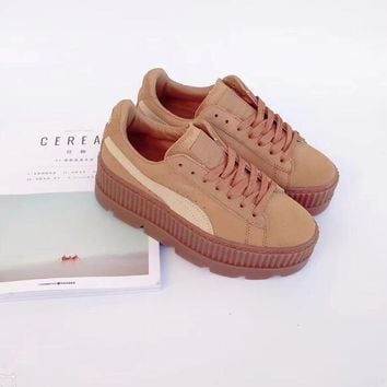 Puma Cleated Creeper Suede outdoor climbing shoes