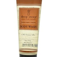 Deep Steep Body Wash, Brown Sugar Vanilla, 8 Ounce