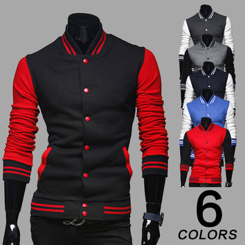 Hoodies Korean Stylish Strong Character Men Jacket [6528758787]