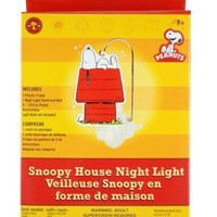 Peanuts Snoopy House Night Light Kids Craft Set