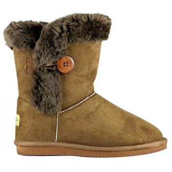 Snowy Creek Women's Faux Fur Lined Winter Boots (Size: 8) at Blain's Farm & Fleet