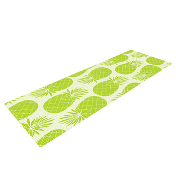 "Anchobee ""Pinya Lime"" Green Pattern Yoga Mat"