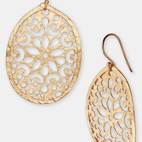 Argento Vivo Laser Cut Drop Earrings | Nordstrom