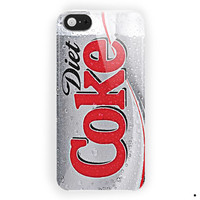 Diet Coke Soft Drink Soda For iPhone 5 / 5S / 5C Case