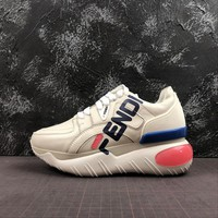 FILA x Fendi Sneakers Beige - Best Online Sale