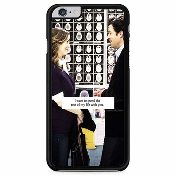 Grey S Anatomy Quote iPhone 6 Plus / 6s Plus