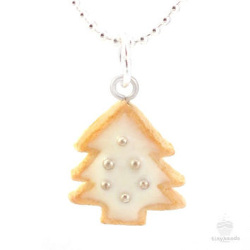 Scented Christmas Cookie Charm Necklace