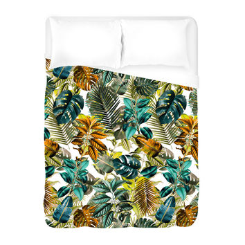 Tropical Garden IV Duvet Cover