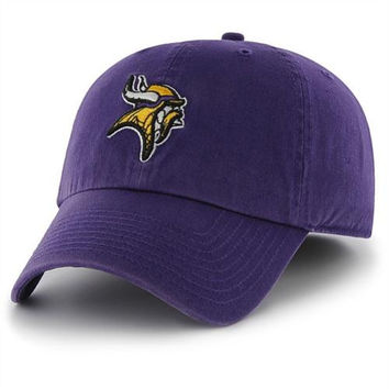 Minnesota Vikings '47 Brand Classic Franchise Fitted Hat – Purple