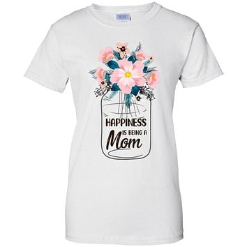 Happiness Is Being Mom Life Flower Mom Gifts