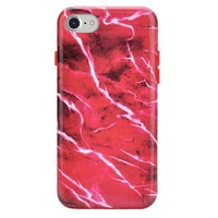 Red Velvet Marble iPhone Case