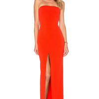 SOLACE London Alston Maxi Dress in Red