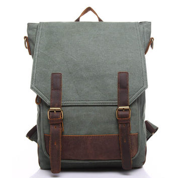 Canvas school, work trave  backpack