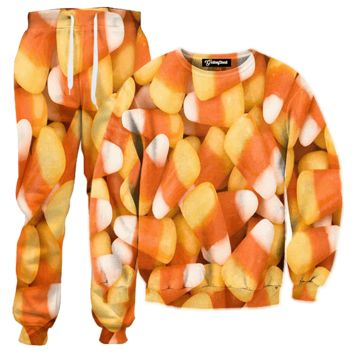 Candy Corn Tracksuit