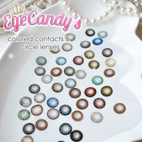 Shop by Color - Circle Lenses - Candy Colored Eye Contacts | EyeCandy's
