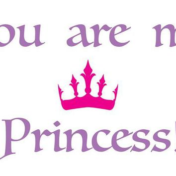 Brewster Wallpaper CR-16201 Princess Wall Quote Decals
