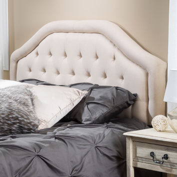 Christopher Knight Home Angelica Adjustable King/ California King Bonded Fabric Headboard | Overstock.com Shopping - The Best Deals on Headboards