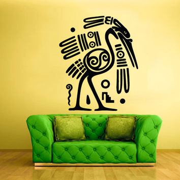 rvz780 Wall Decal Vinyl Sticker Decor Art Bedroom Decal Bird Egypt Symbol
