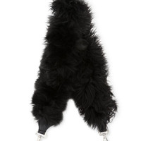 Fendi Strap You Large Fur Shoulder Strap