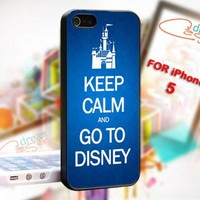 Keep Calm and GO TO DISNEY - Photo On Hard Cover For iPhone 5